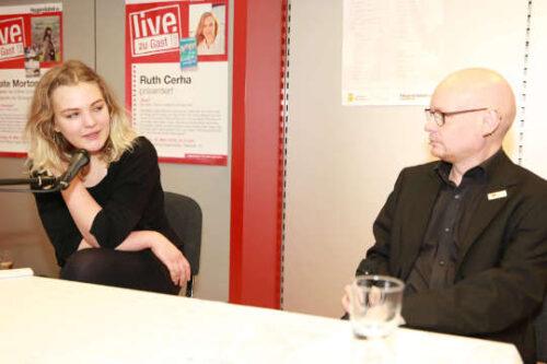 Lena Wachweger und Elia van Scirouvsky