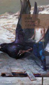 oda - Umschlag, unter Verwendung eines Gemäldes von Frank Hauptvogel