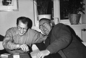 Volker Braun und Peter Gosse