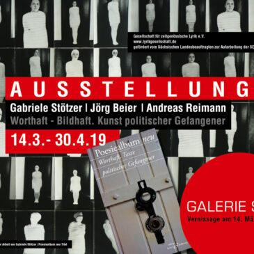 Ausstellung: Worthaft-Bildhaft. Kunst politischer Gefangener